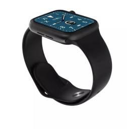Relogio inteligente Smartwatch w68 com menu colmeia