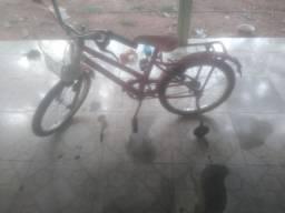 Bicicleta infantil menina rosa