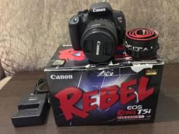 Canon T5i seminova com nota fiscal