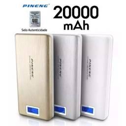 Bateria Externa Carregador Portátil Celular Pineng 20000