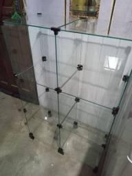 2 Balcão de vidro