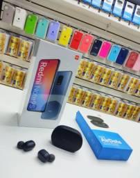 Kit celular xiaomi Note 9s 128 + fone airdots