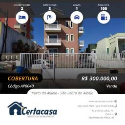 AP0040e - Linda cobertura duplex com vista panorâmica de São Pedro