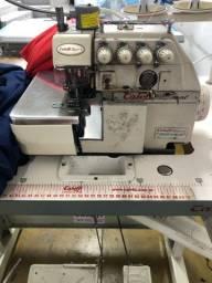 Máquina costura- Reta e overloque