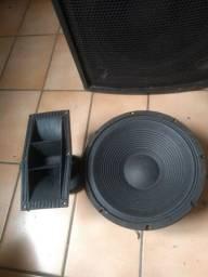 Caixa de som Passiva - Alto falantes