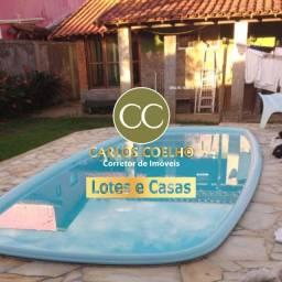 Eam463 Casa + Quitinete no Condomínio Verão Vermelho em Unamar - Cabo Frio/RJ