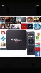 Tv Box 4k Premium Smart 4gb Ram 64gb Rom 5g- Android 10.1