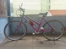 Bicicleta Caloi Ventura Cruise (Rosa) - Aro 26 - 6 Marchas