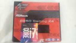 Kit Intel Core i7-7700 + placa mãe Asrock B250 Fatal1ty Gaming K4