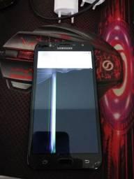 Celular Samsung J7 neo tv tela trincada