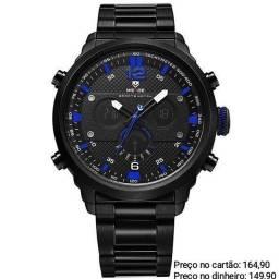 Relógio masculino importado original Weide EXCLUSIVO