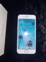 Vendo iphone 6 32gb dourado (Não troco e só aceito o valor a vista)