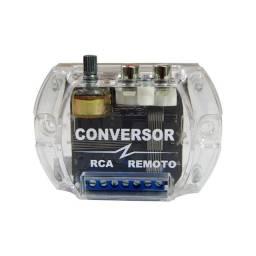 Conversor RCA Zendel 4V com Remoto com Ajuste de Ganho Lançamento