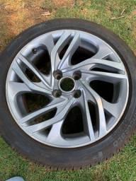 Rodas 17 com pneus 90%