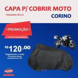 Título do anúncio: Capa para Cobrir Moto Corino (P/M/G)