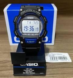 Relógio Casio Vibration Alarm esportivo novo original (aceito cartão )