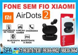 Fone de Ouvido Bluetooth Redmi Air2 Dots Xiaomi (R$ 125,00 em espécie ou pix)
