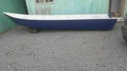 Barco canoa de alumínio