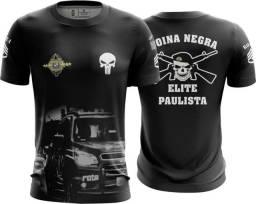 Camiseta Camisa Rota Pmsp - Rte  (uso Liberado)