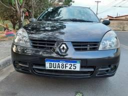 Título do anúncio: Renault Clio Expression 1.0 16V Completo C/Couro