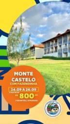 Título do anúncio: Monte castelo no fim de semana !