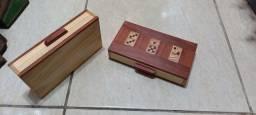 Título do anúncio: Caixa para domino