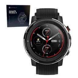 Smartwatch Amazfit Stratos 3 - Multi Gps e Música Autônomos - Relógio Inteligente.