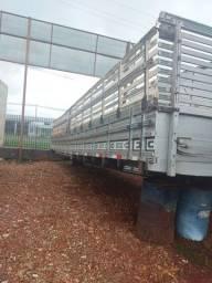 Carroceria 8,60 mts graneleiro grade aberta