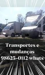 Mudança e transporte 9 8 6 2 5 0 1 1 2 whatsapp