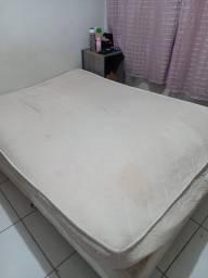 Título do anúncio: Doa-se cama Box casal