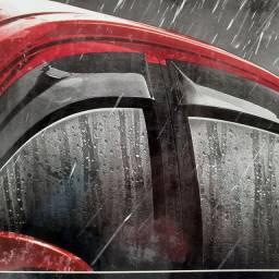 Calha de chuva TG Poli para: Honda City. 09/14. C/ 4 portas. Nova. Colocada.