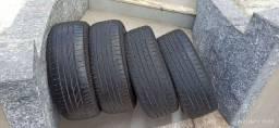 Jogo de pneus 205/55/16 Bridgestone sem concertos