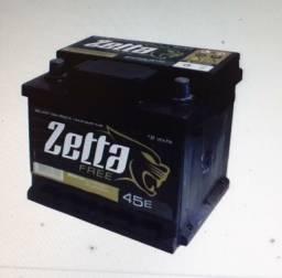 Bateria Zetta 45ah ? Z45d ? Fabricação Moura - Selada