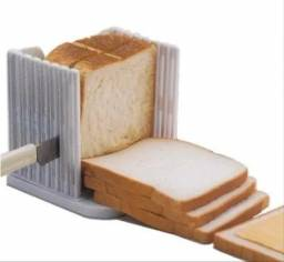 Fatiador Cortador De Pão De Forma Pão Caseiro Prático Fácil novo lacrado