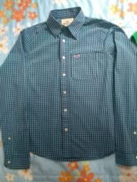 Vende-se camisa social Hollister americana original