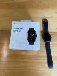 Amazfit gts 2 + case + pelicula aceito troca