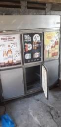Refrigerador gelopar 6 portas inox