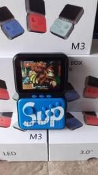 Título do anúncio: Mini Game Boy retro 900 jogos na memoria ,emula vários consoles