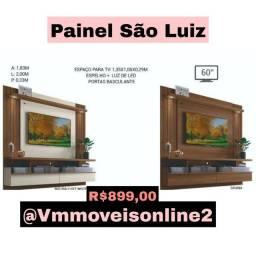 Painel Tv espelho + luz de led são Luiz Entrega Goiânia e Aparecida
