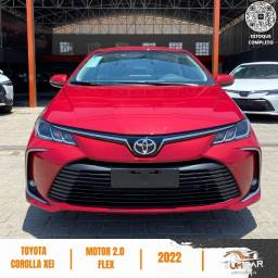 Título do anúncio: Toyota Corolla - XEI - 2022 - Vermelho - Pronta Entrega