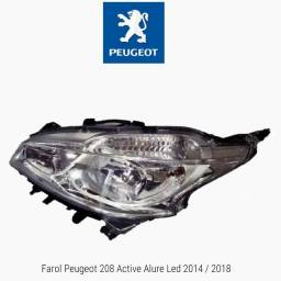 Farol Peugeot 208 Active Alure 2014 2018 LE