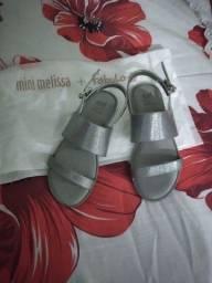 Sandálias Melissas infantil