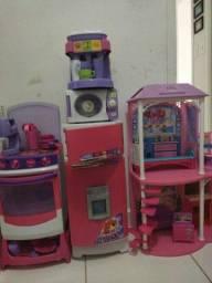 Kit brinquedos para meninas.