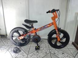 Título do anúncio: Bicicleta Aro 16 Infantil,  Modelo: Super Mário.