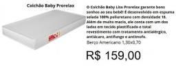 Título do anúncio: Colchão de Berço Americano D18 130X70X10- Compre agora pelo Whats e receba já amanhã!