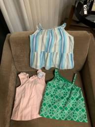 Título do anúncio: Blusas infantis menina