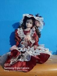 Boneca de porcelana  italiana