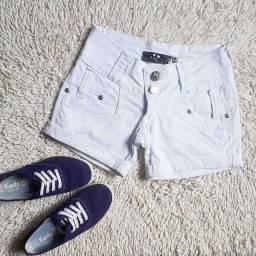 Shorts de tecido