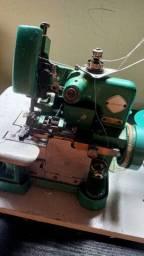Máquina de costura overloque semi industrial