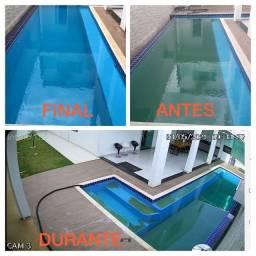 Título do anúncio: Limpeza de piscina (Anapolis)